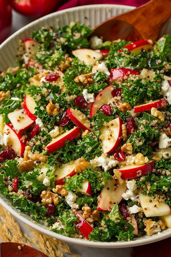 quinoa salad recipe yummly quinoa quinoa salad with apples walnuts and ...
