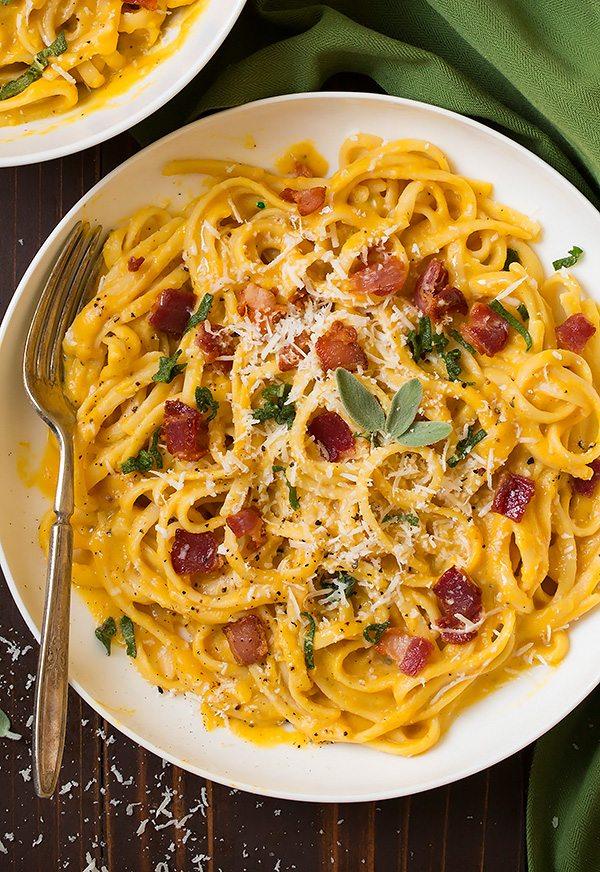 Butternut Squash Carbonara | Cooking Classy