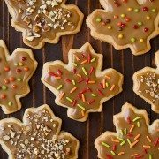 Iced Maple Shortbread Cookies | Cooking Classy