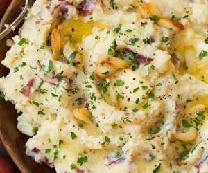 Roasted Garlic Mashed Potatoes | Cooking Classy