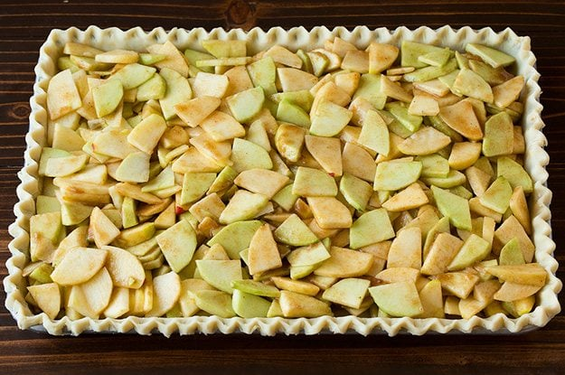 Crumb Topped Apple Slab Pie   Cooking Classy