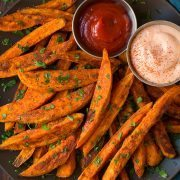 Baked Sweet Potato Fries | Cooking Classy