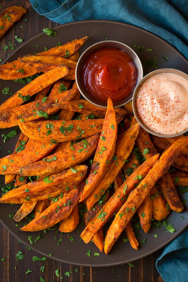 Oven Baked Sweet Potato Fries Healthy Homemade Cooking Classy