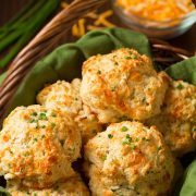 Cheddar Chive Drop Biscuits | Cooking Classy