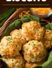 Cheddar Chive Drop Biscuits