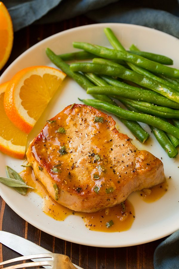 Orange Sage Pork Chops | Cooking Classy