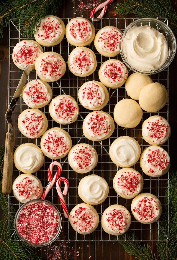 Peppermint Meltaway Cookies Cooking Classy