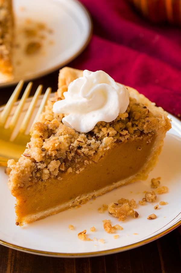 Shortcut Streusel Pumpkin Pie | Cooking Classy