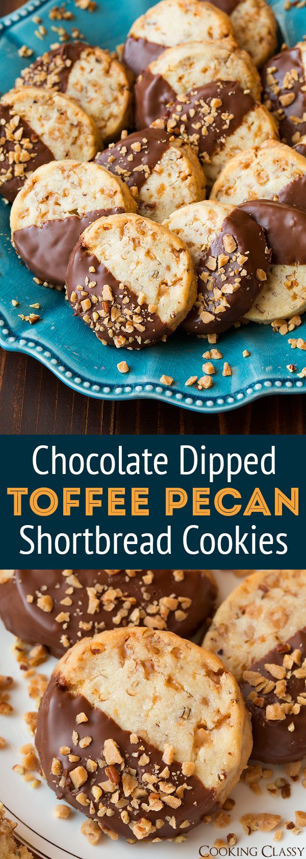 ... .cookingclassy.com/chocolate-dipped-toffee-pecan-shortbread-cookies