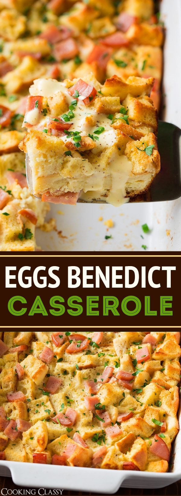 Overnight Eggs Benedict Casserole | Cooking Classy