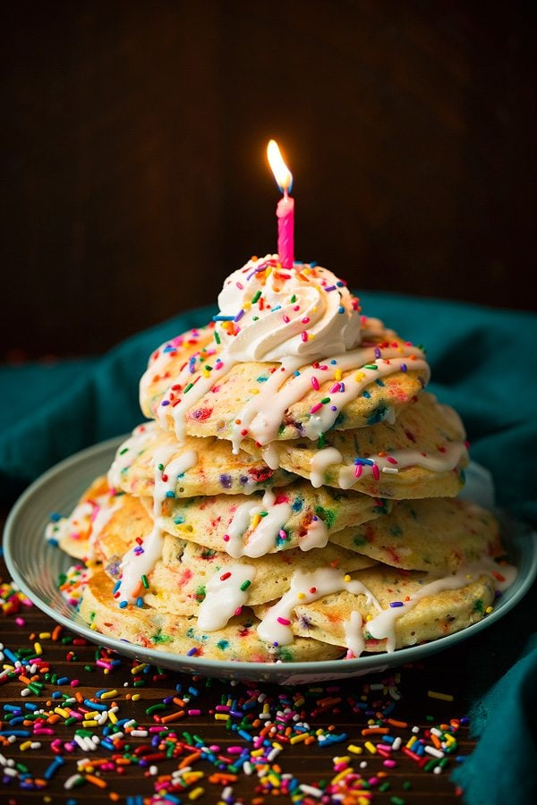 Funfetti Pancakes | Cooking Classy