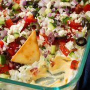 Greek Seven Layer Dip | Cooking Classy
