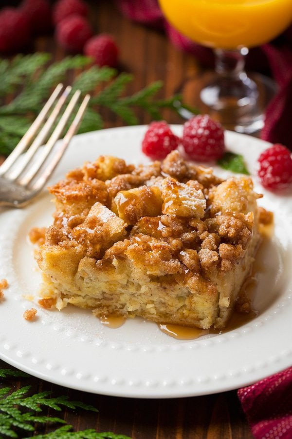 Overnight French Toast Casserole | Cooking Classy