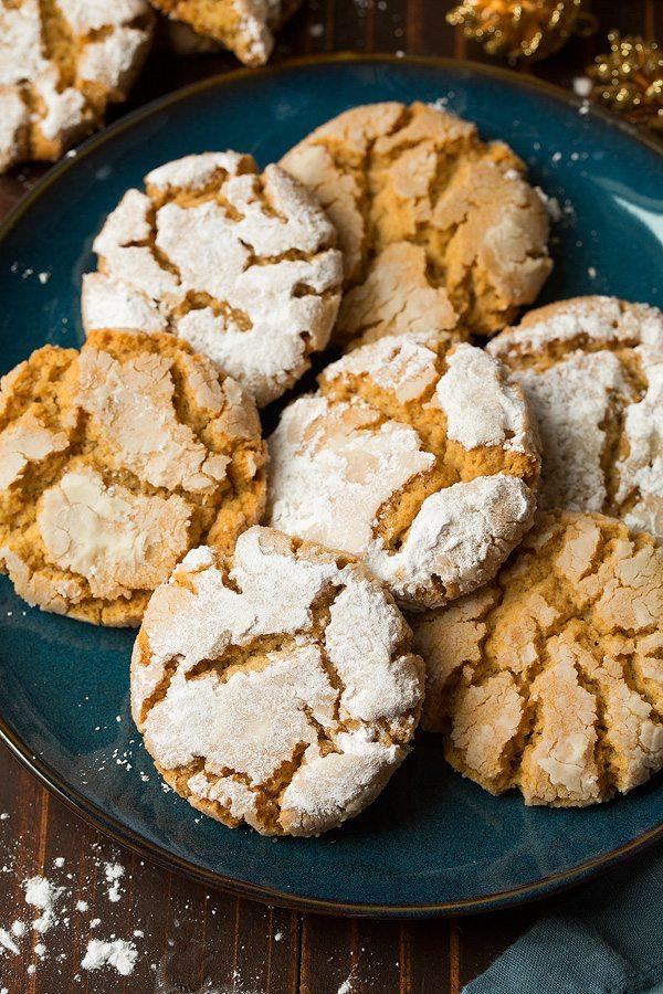 Crisp Peanut Butter Crinkles