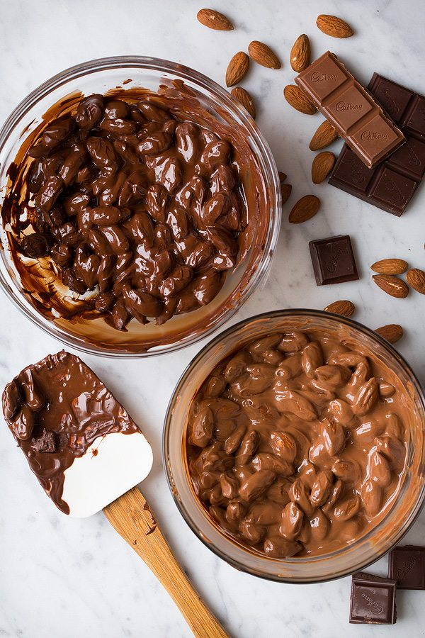 Salted Chocolate Almond Clusters | Cooking Classy