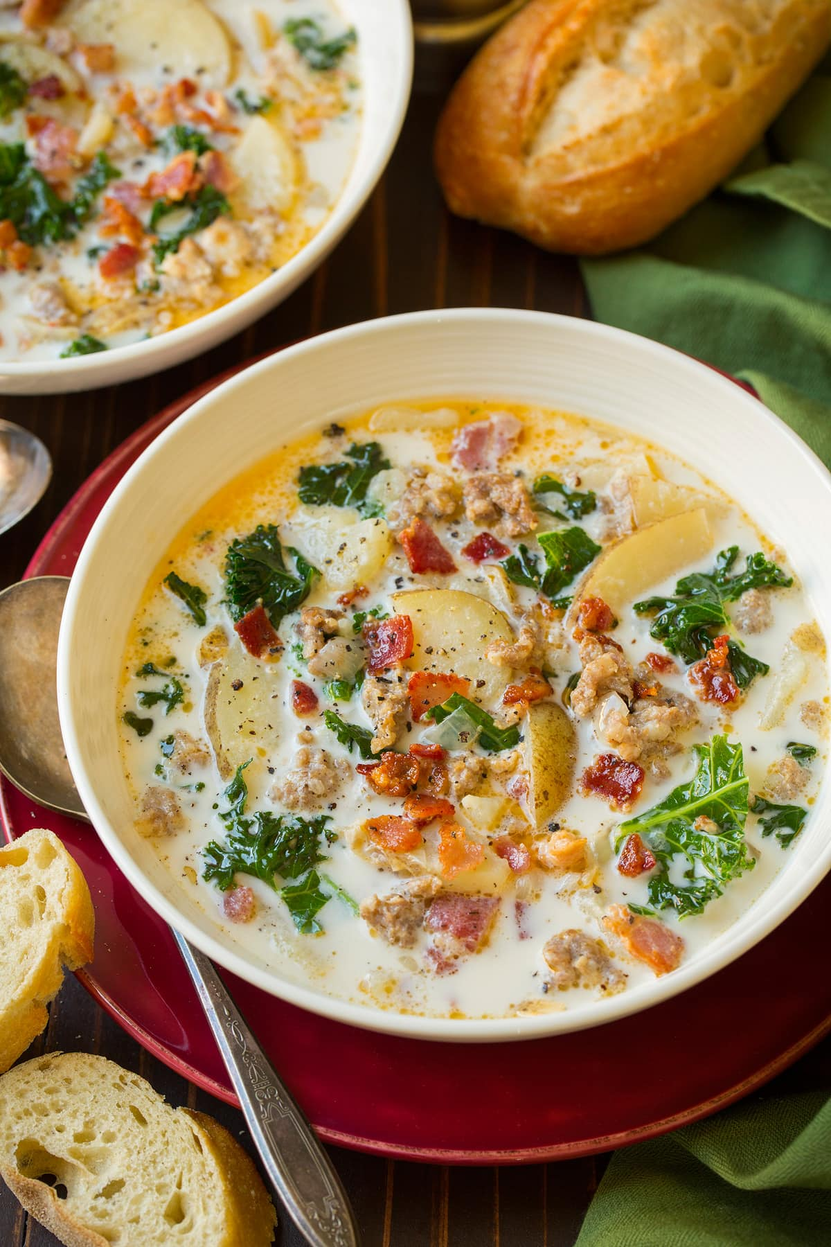Zuppa Toscana Soup Olive Garden Copycat Cooking Classy