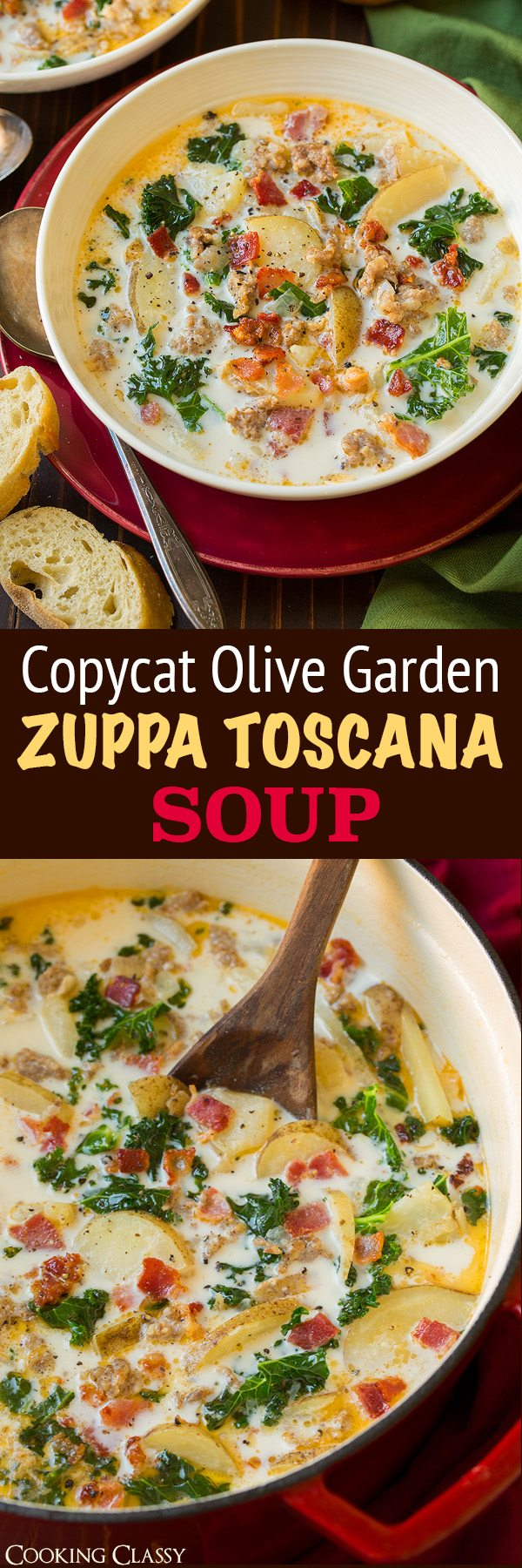 Zuppa Toscana Soup Olive Garden Copycat Recipe Cooking Classy