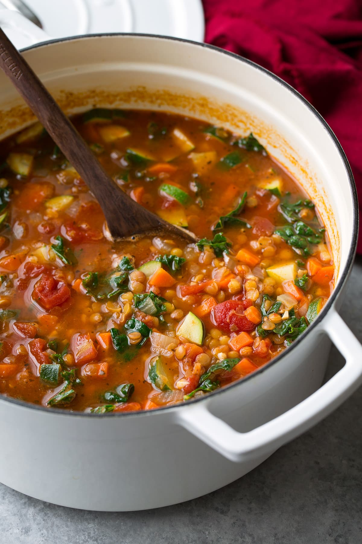 Lentil Soup Italian Vegetable Cooking Classy