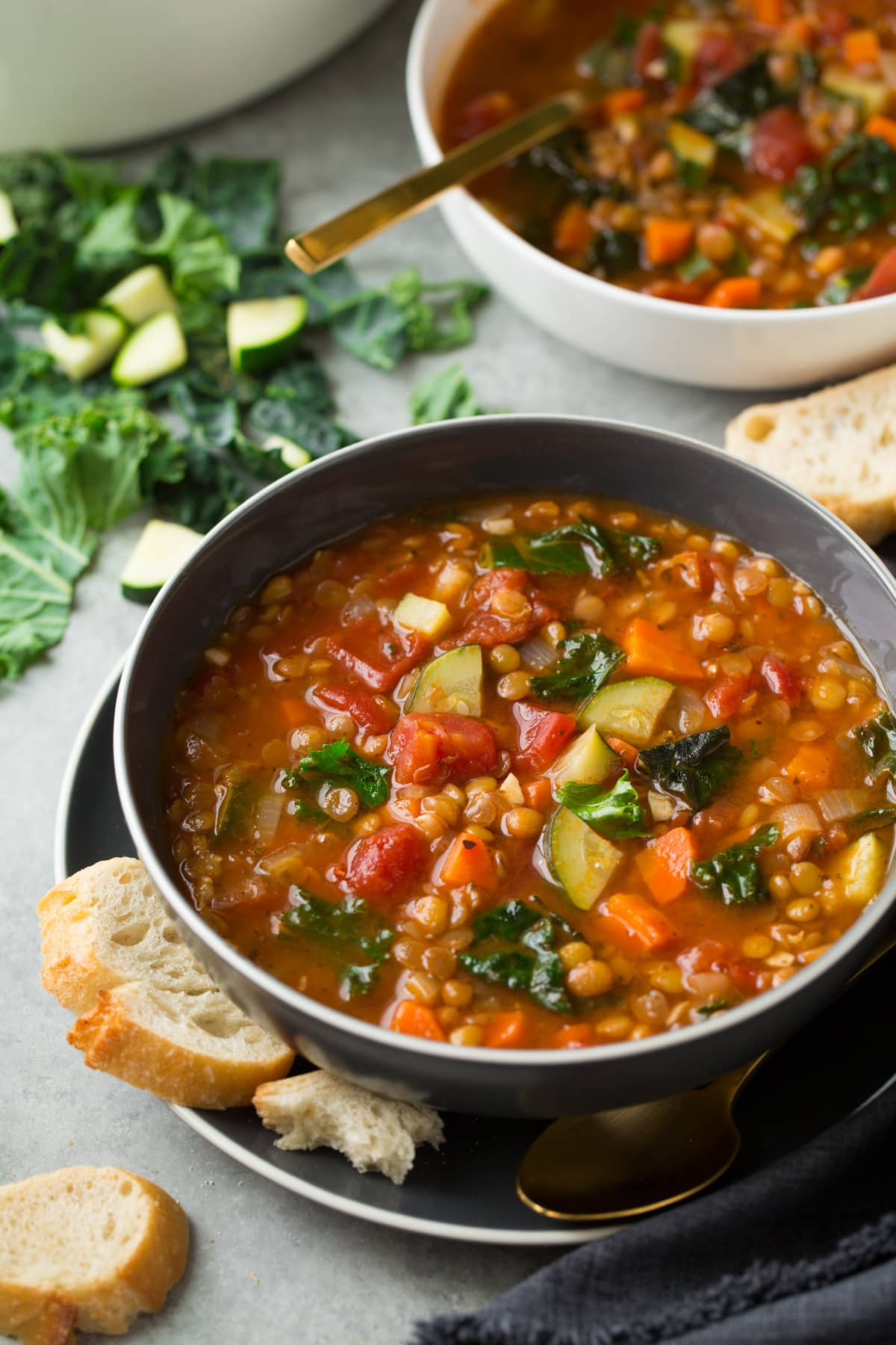 Lentil Soup (Italian Vegetable)