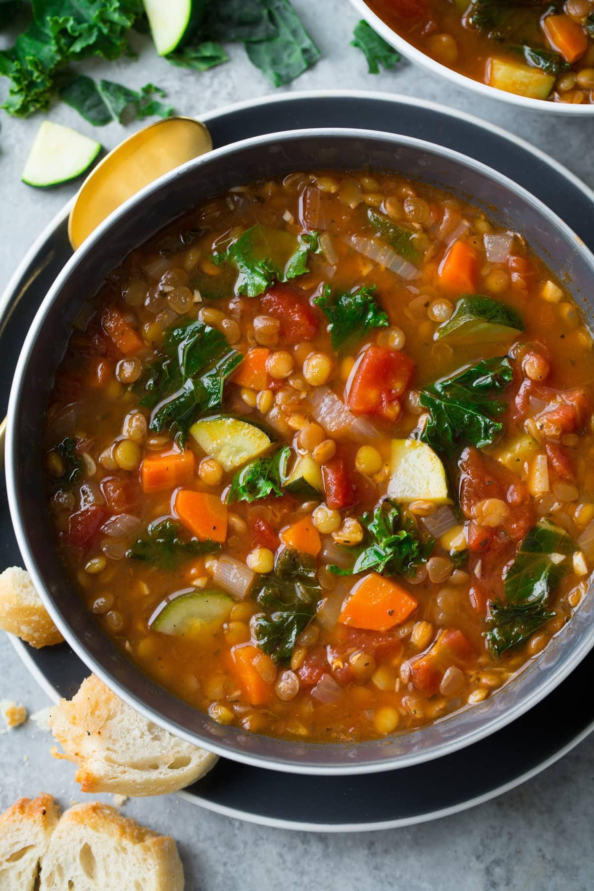 Lentil Soup (Italian Vegetable)