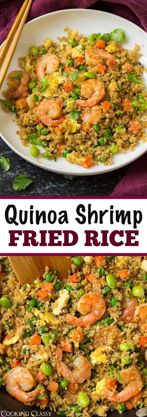 Shrimp Quinoa Fried Rice   Cooking Classy