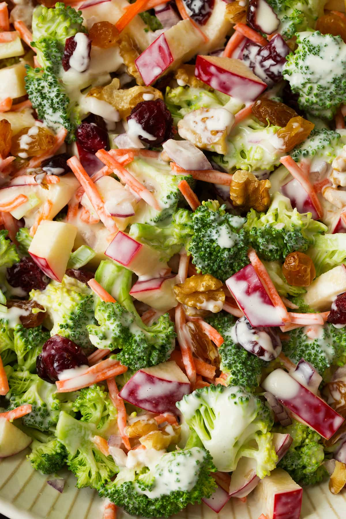 Broccoli apple salad