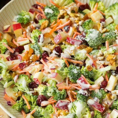 Broccoli Apple Salad Cooking Classy