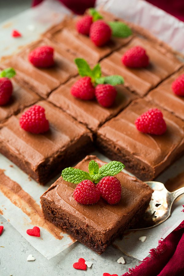 Chocolate Frosted Brownies | Cooking Classy