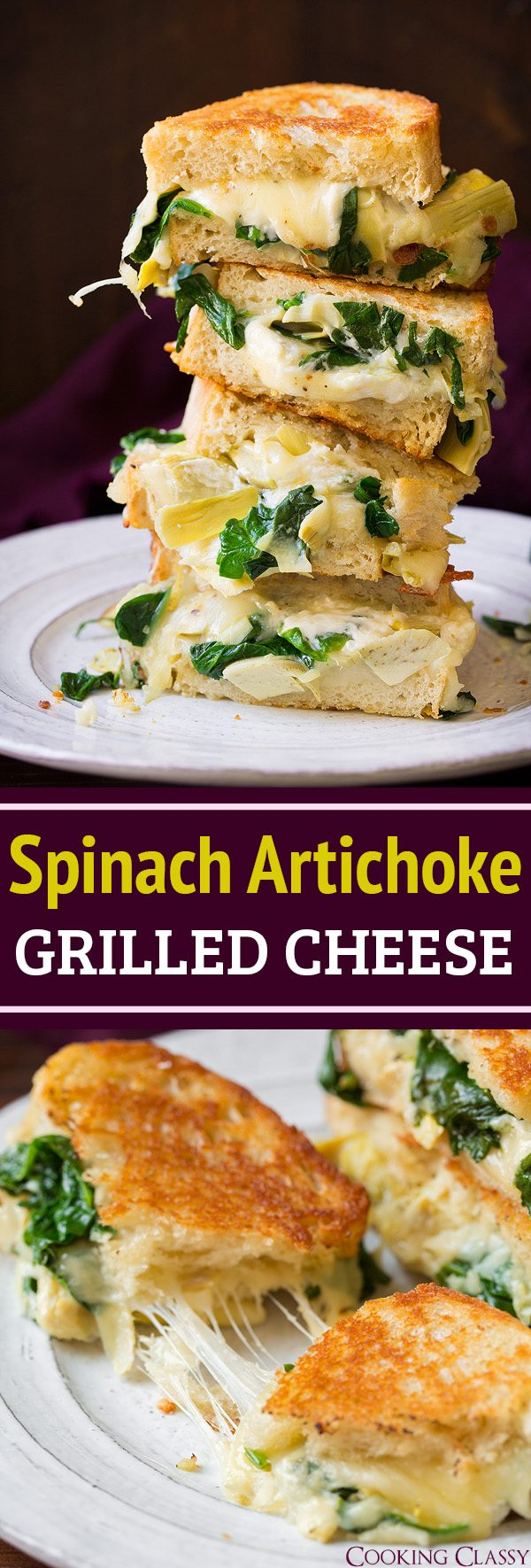 http://www.cookingclassy.com/spinach-artichoke-grilled-cheese/