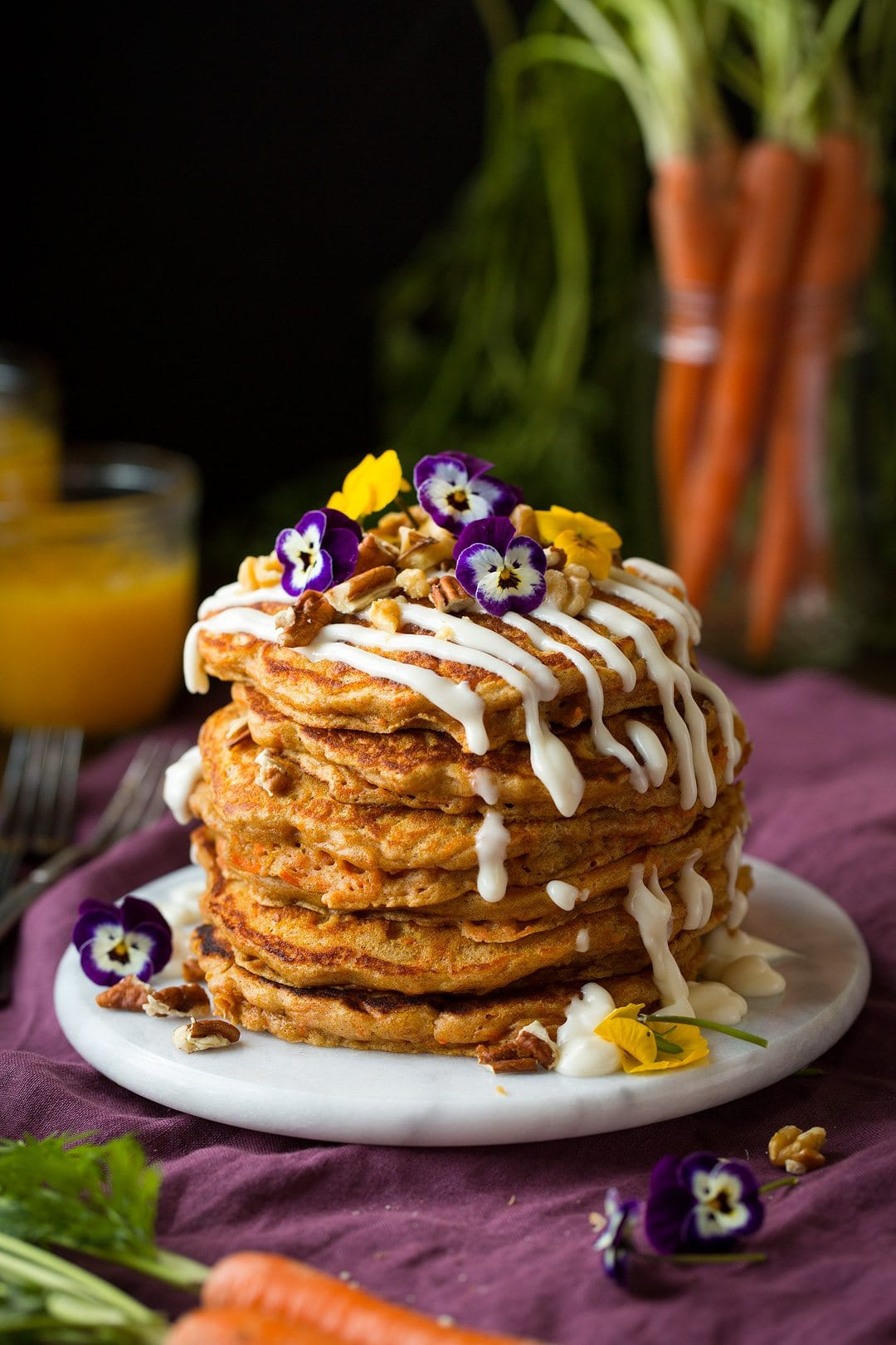 Carrot Cake Pancakes Cooking Classy