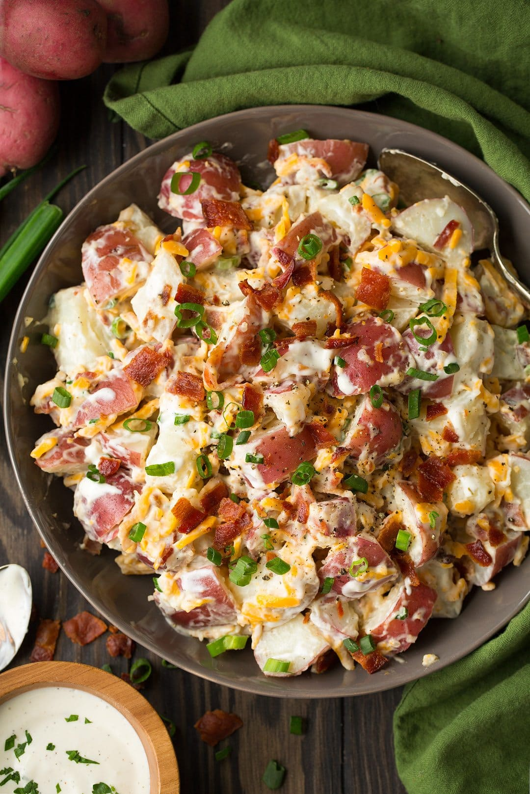 Simple Potato Salad Recipe With Bacon