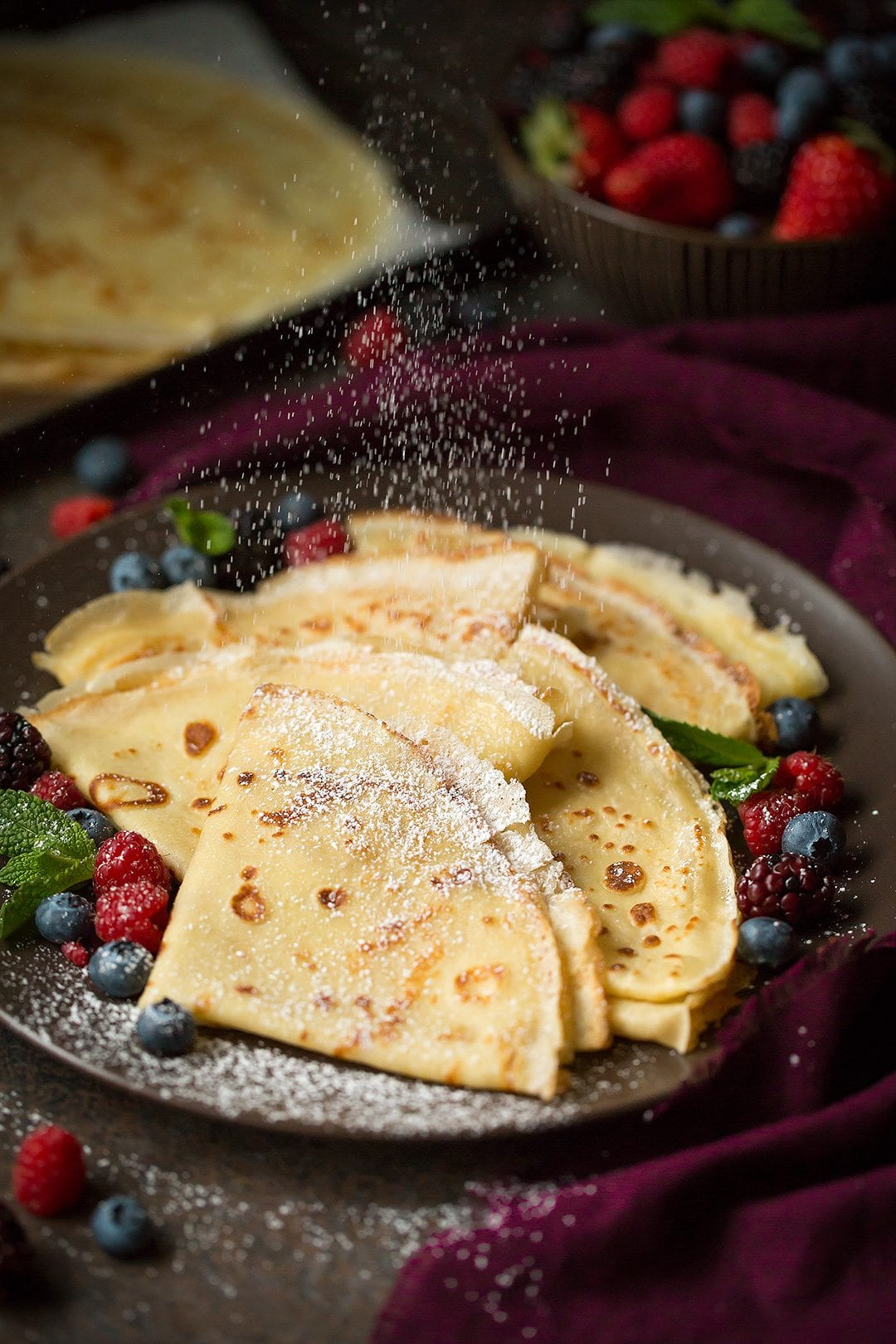 How To Make Crepes With Filling Amp Topping Ideas