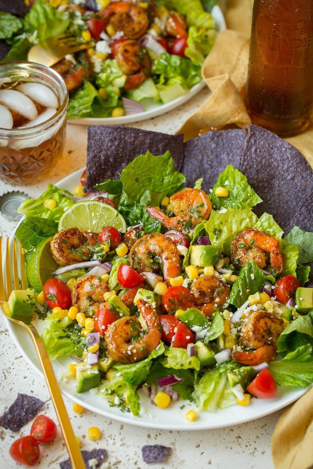 how to make avocado salad with shrimp