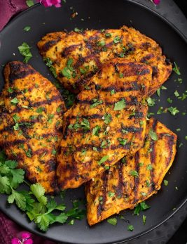 Grilled Moroccan Chicken