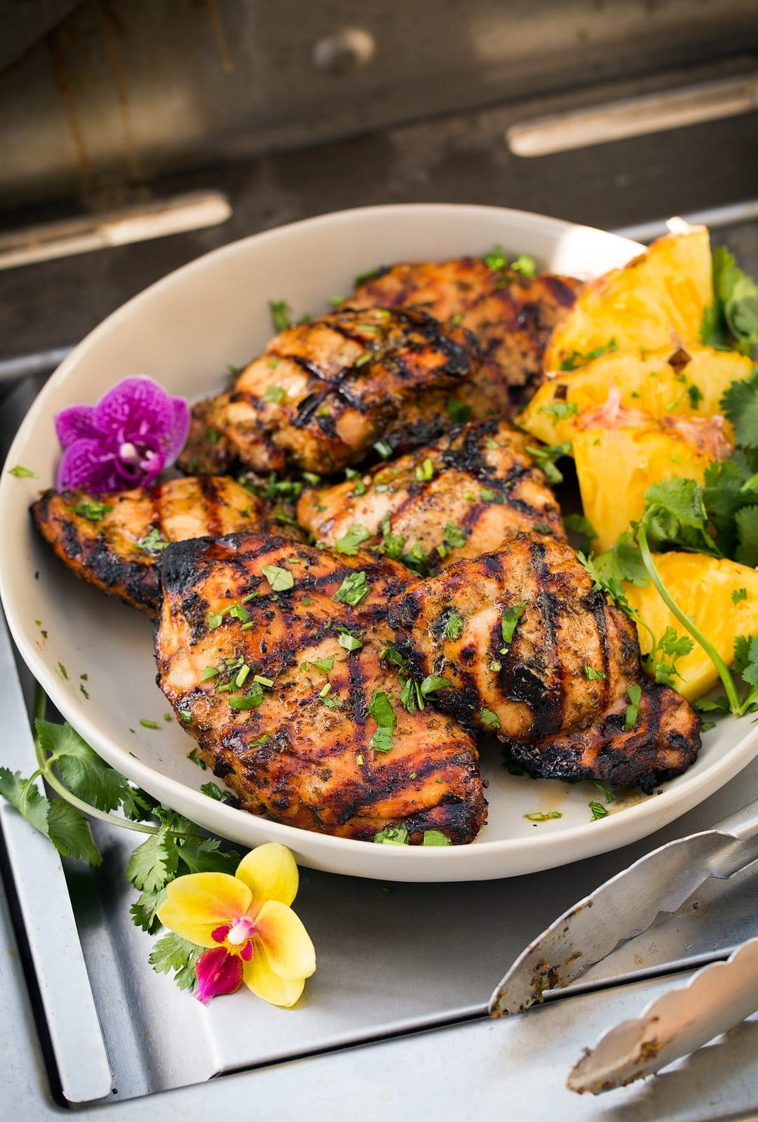 Grilled Chicken With Jerk Chicken Marinade