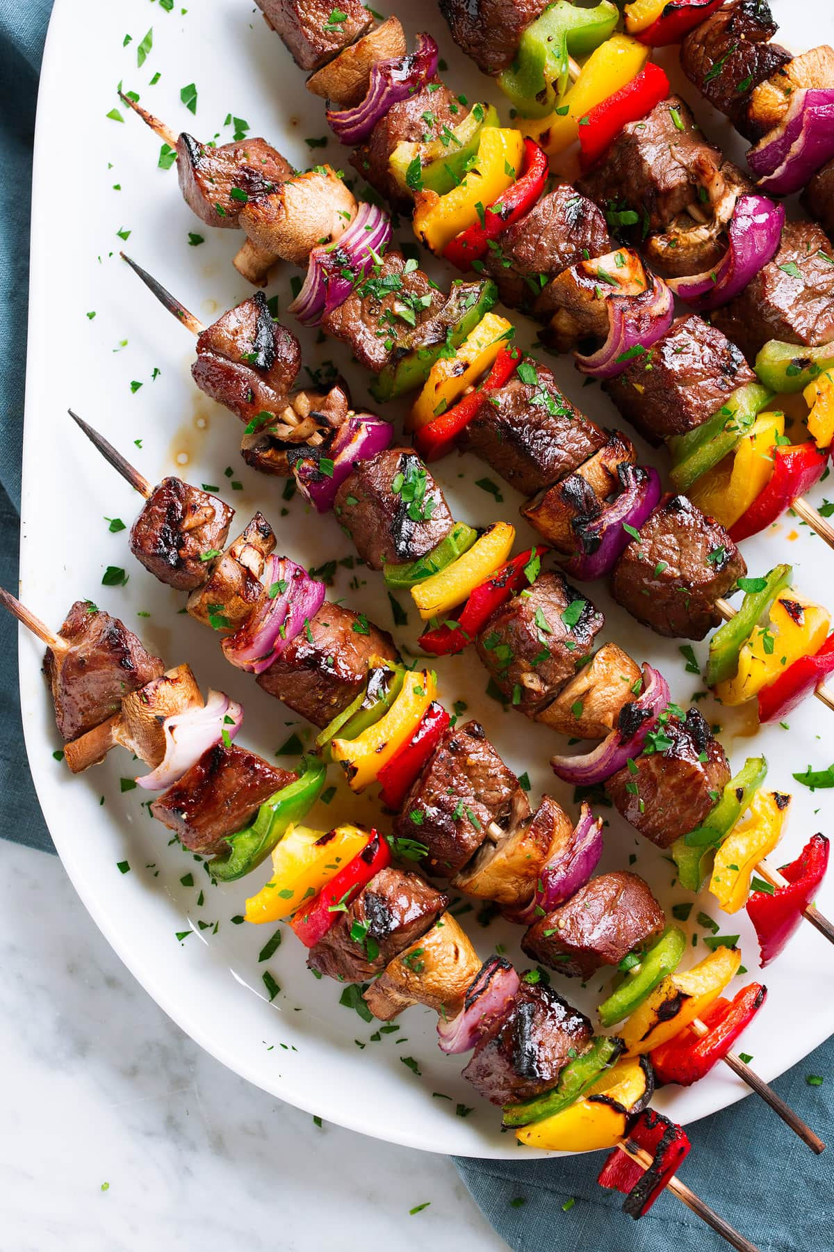 Steak Kebabs A Flavorful Steak Recipe Cooking Classy