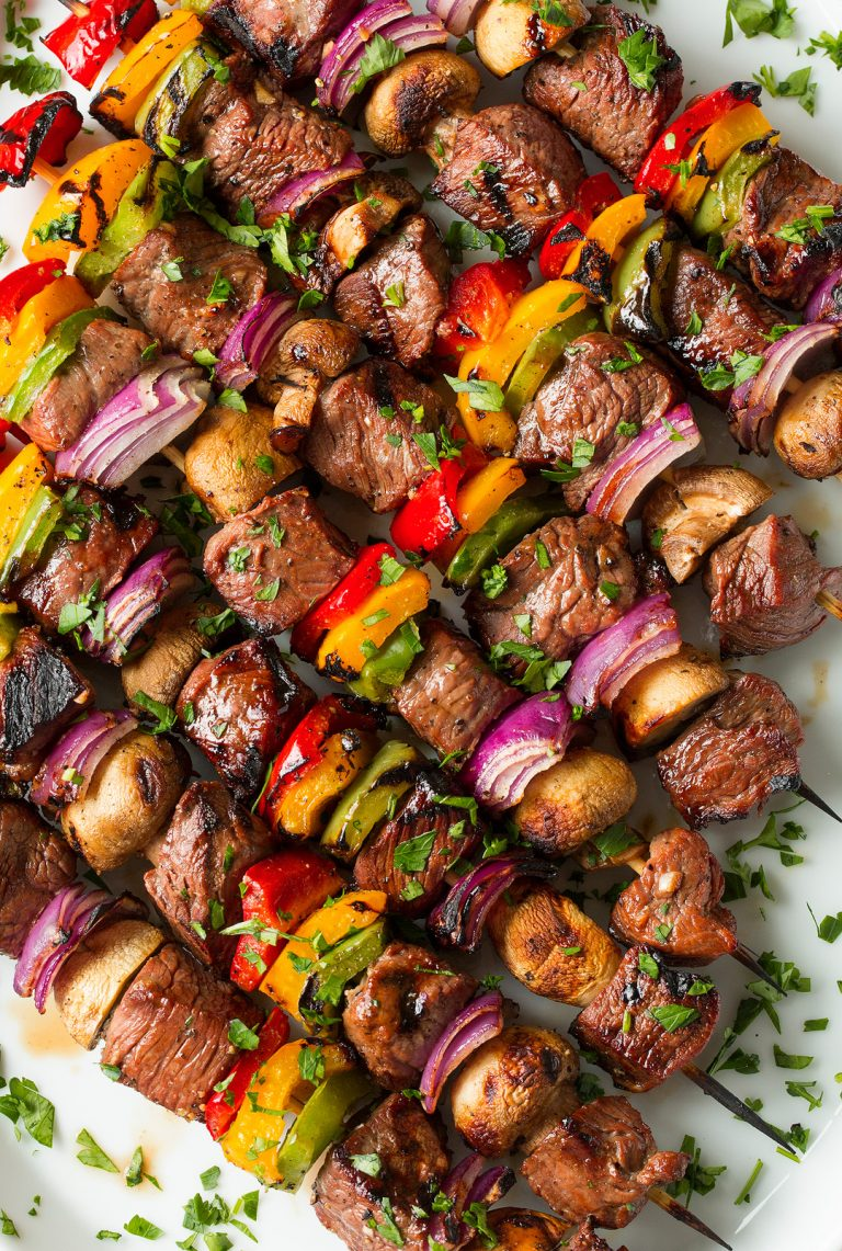 fabulous fourth of july steak kebabs