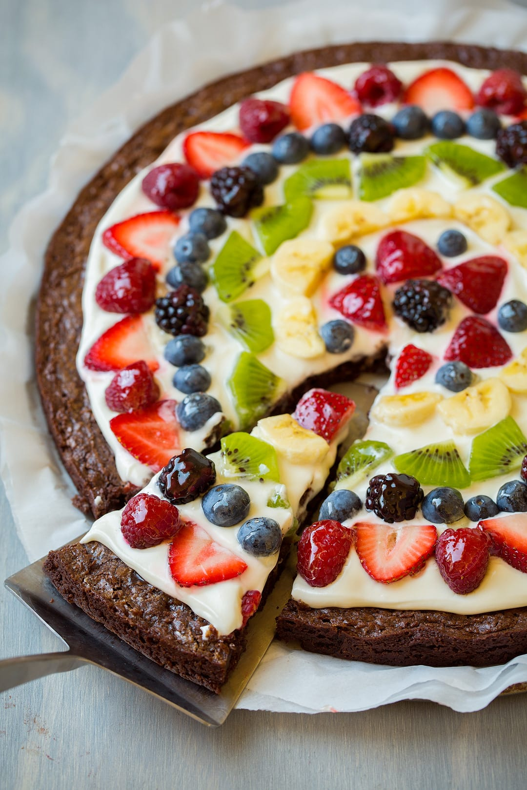 Brownie Fruit Pizza Cooking Classy