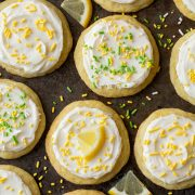 Chewy Lemonade Sugar Cookies