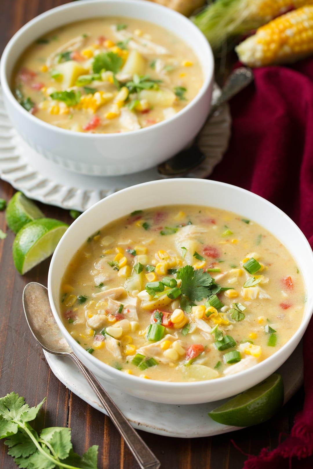 Coconut Chicken Corn Chowder