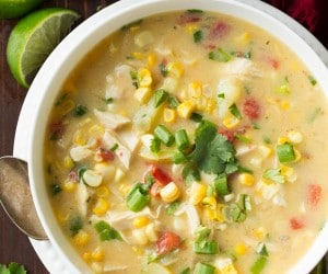 Coconut Chicken Corn Chowder