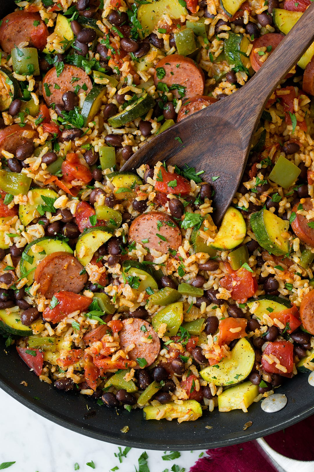 Sausage Zucchini And Brown Rice Recipe Cooking Classy