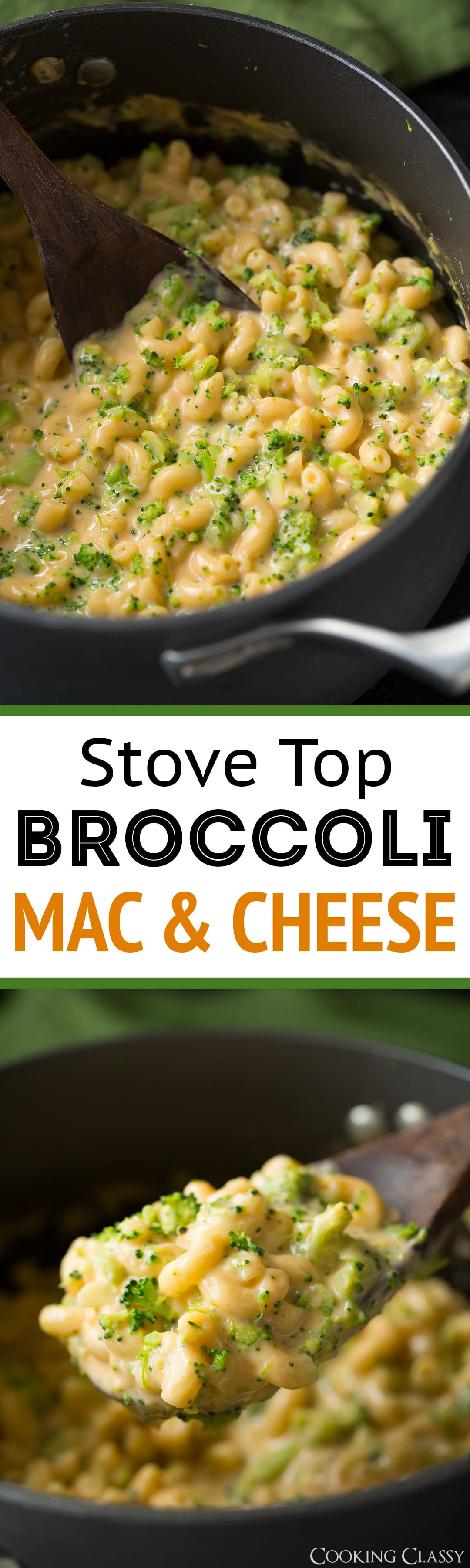 http://www.cookingclassy.com/stove-top-broccoli-mac-and-cheese/