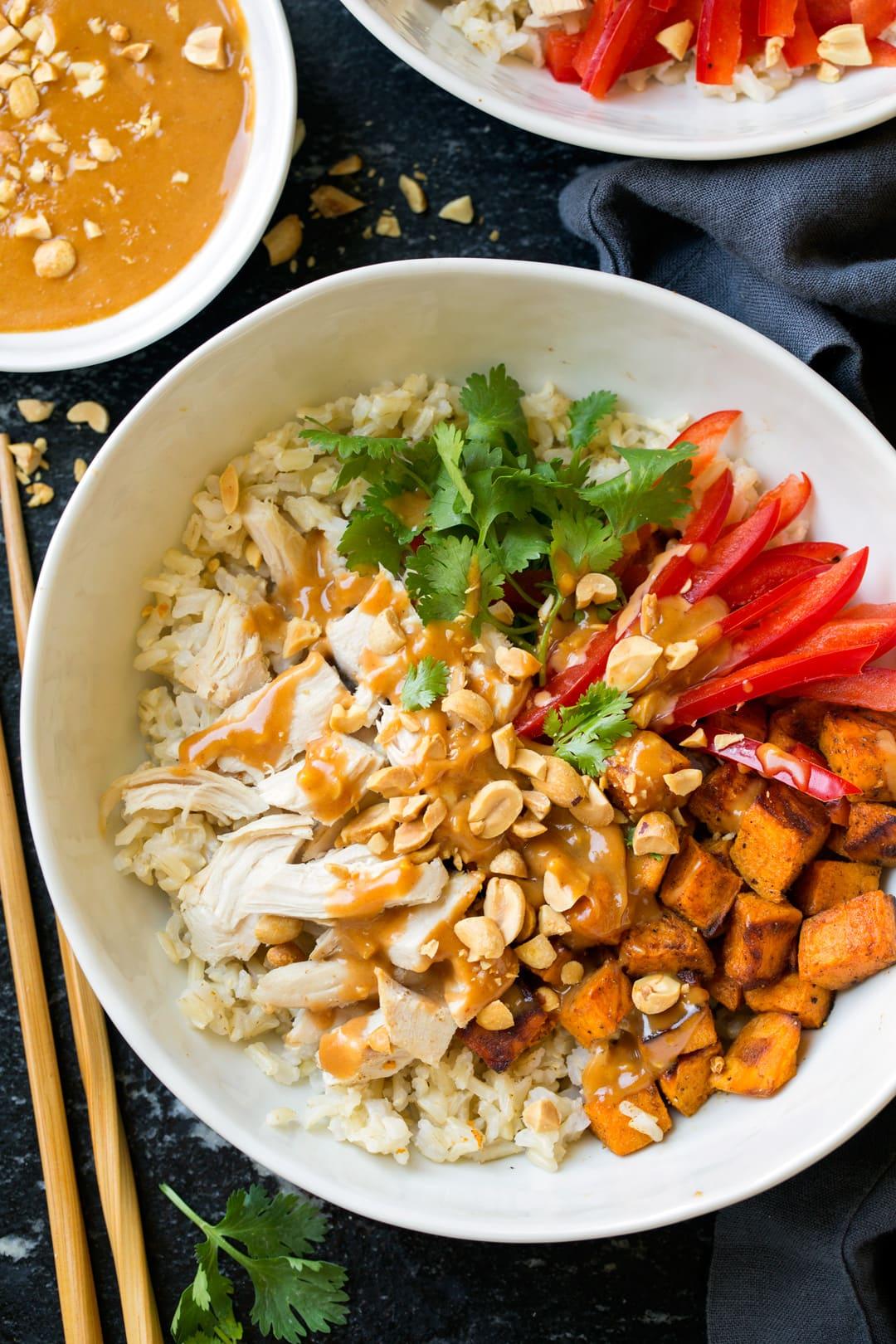 Veggie Bowl Recipe Brown Rice