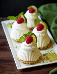 Mini Frozen Key Lime Pies