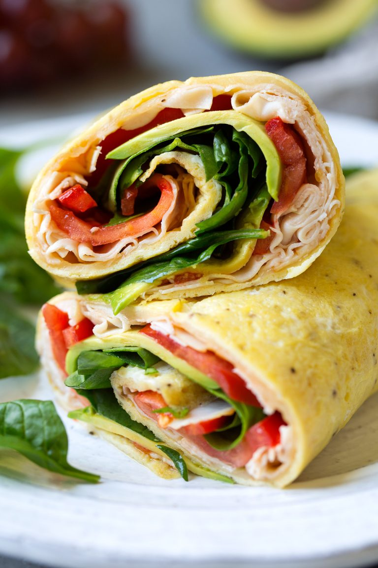 turkey egg wrap