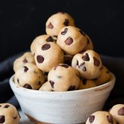 Chocolate Chip Cookie Dough Bites