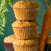 Carrot Zucchini Spice Muffins