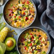 Creamy Mexican Corn Chowder