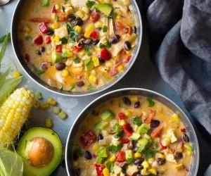 Creamy Mexican Corn Chowder